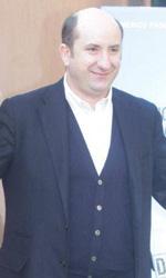 Riso amaro - Antonio Albanese al photocall del film Qualunquemente.