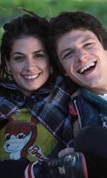 L'amore ha sempre gli occhi lucidi - Giuseppe Gandini, Giulia Michelini e Andrea Bosca nel film <em>febbre da fieno</em>.