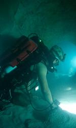 Le foto del film Sanctum 3D - Il gruppo di sommozzatori in esplorazione tra le caverne.
