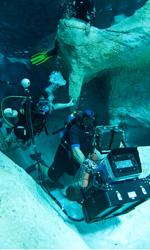 Le foto del film Sanctum 3D - Ancora una foto delle riprese effettuate in profondita dalla troupe di Sanctum 3D.