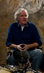 Le foto del film Sanctum 3D - James Cameron (al centro) � produttore e supervisore del film.