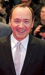 Berlinale 2011: Il red carpet di Margin Call - Kevin Spacey con Jeremy Irons e il regista J.C. Chandor alla premiere di <em>Margin Call</em>.