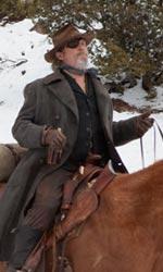 C'era una volta il western - Marshal Cogburn, La Boeuf e Mattie Ross in una scena del film Il grinta.