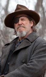 C'era una volta il western - Jeff Bridges (Marshal Cogburn) in una scena del film Il grinta.