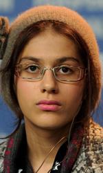 Non sempre le bugie sono immorali - L'attrice Sarina Farhadi alla conferenza stampa di presentazione del film.