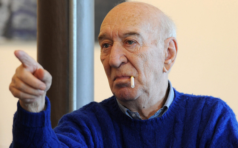 In foto Giuliano Montaldo (87 anni)