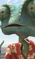 Dal mare dei pirati al deserto del West - Rango � un camaleonte domestico che si crede un attore. Un giorno, mentre viene trasportato in auto lungo il deserto, viene sbalzato fuori dall'abitacolo. L� per lui inizier� una magica e divertente avventura.
