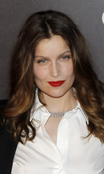 C�sar 2011: vince Uomini di Dio - Laetitia Casta con il marito Stefano Accorsi. L'attrice francese interpretava Brigitte Bardot in <em>Gainsbourg - Vie h�ro�que</em>. Per lei nessun premio.
