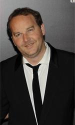 César 2011: vince Uomini di Dio - Xavier Beauvois (a destra), regista di Uomini di Dio, in compagnia di Lambert Wilson e Sabrina Ouazani.