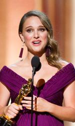 Oscar, trionfa Il discorso del re - Natalie Portman premiata come migliore attrice protagonista per Il cigno nero.