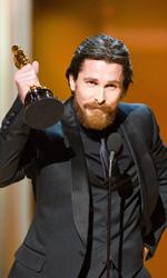 Oscar, trionfa Il discorso del re - Christian Bale premiato come migliore attore non protagonista per <em>The Fighter</em>.