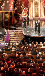 Oscar, trionfa Il discorso del re - Il momento della premiazione per Natalie Portman.