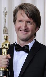 Oscar, trionfa Il discorso del re - Tom Hooper premiato con l'Oscar per la regia di Il discorso del re.