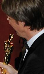 Oscar, trionfa Il discorso del re - Il momento della premiazione di Tom Hooper, miglior regista per Il discorso del re.