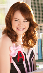 La sostenibile leggerezza del remake - Emma Stone in una scena del film Easy Girl.