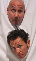 Se il film va bene, nascer� un nuovo duo comico - Una scena del film <em>Una cella in due</em>.