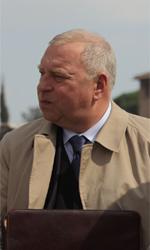 Habemus Papam, le foto - Il regista polacco Jerzy Stuhr, amico di Nanni Moretti.