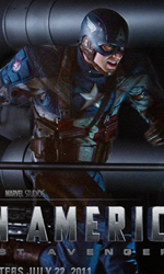 Teschio Rosso fa la sua comparsa con l'uniforme dell'Hydra - Un wallpaper di Captain America: The First Avenger.