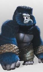 Kung Fu Panda 2, rivelati 4 nuovi personaggi - I Gorilla sono i muscoli dell'armata di Lord Shen. Per i lavori pesanti loro sono sempre a disposizione.