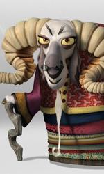 Kung Fu Panda 2, rivelati 4 nuovi personaggi - Po, Tigre, Gru, Scimmia, Mantide e Vipera potranno contare sulla vecchia Soothsayer, la consigliera dei Pavoni, saggia e in grado di prevedere il futuro.