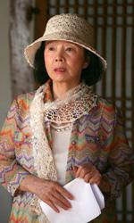 Conversazione con Tatti Sanguineti su Poetry - Yu Junghee in una scena del film Poetry di Lee Chang-dong.