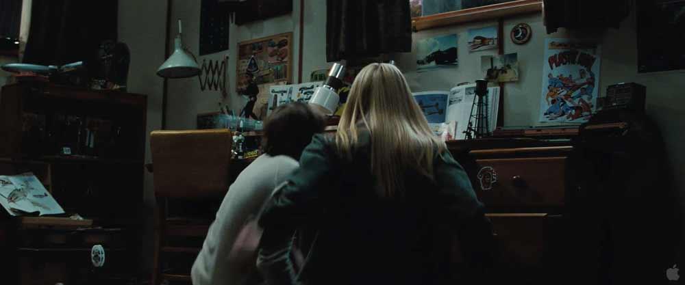Un'altra immagine della camera di Joe. -