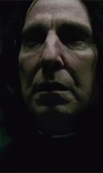 Il confronto tra Harry e Voldemort nella preview del Cinemacon - In foto Alan Rickman, interprete di Severus Snape anche nella seconda parte di <em>Harry Potter e i doni della morte</em>.