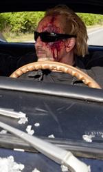 La vendetta viaggia su una Dodge Charger del '69 - Una scena del film Drive Angry 3D.