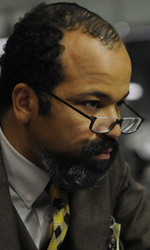 Source Code, la fantascienza a portata d'uomo - Jeffrey Wright in una scena del film <em>Source Code</em>.