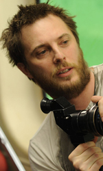 Source Code, la fantascienza a portata d'uomo - Duncan Jones sul set di Source Code.
