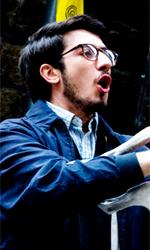 Anche Telecom Italia protagonista di C'� chi dice no - Paolo Ruffini (Samuele) in una scena di C'� chi dice no.
