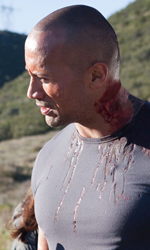 The Rock cerca vendetta - Un malconcio Dwayne Johnson con il regista George Tillman jr. sul set di Faster.