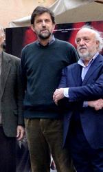 Moretti: �Il Papa? � l'ultimo dei miei problemi� - Il cast di Habemus Papam al photocall del film.