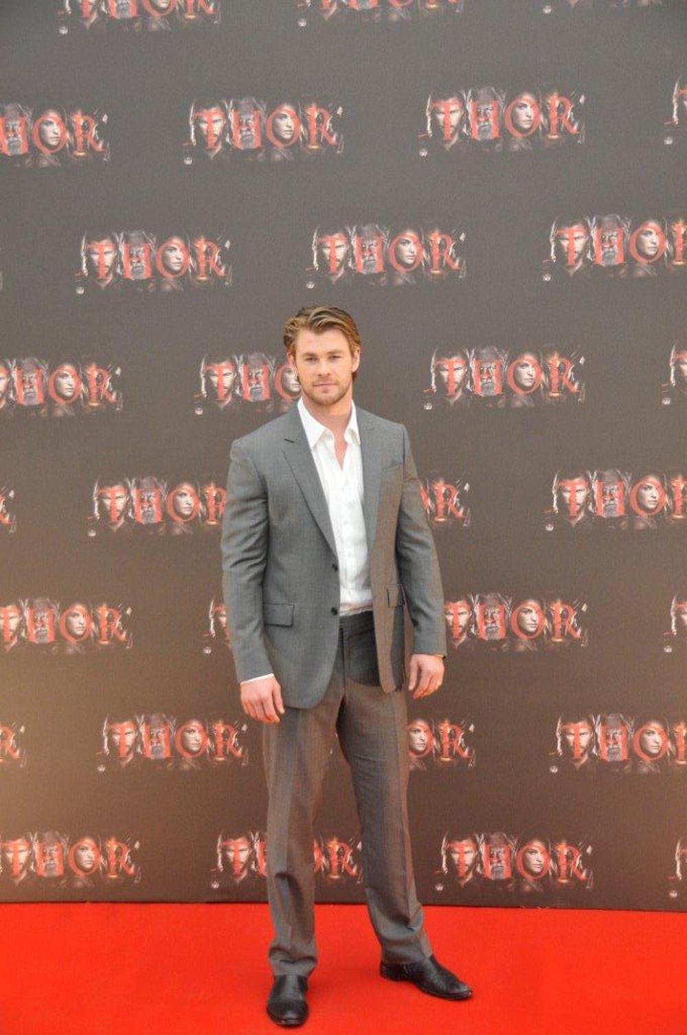 In foto Chris Hemsworth (33 anni)