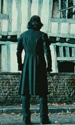 Questa notte unisciti a me e confronta il tuo destino - Snape davanti la casa di Harry.