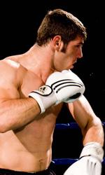 Tatanka, il riscatto sociale passa dal ring - Clemente Russo in una scena del film <em>Tatanka</em>.