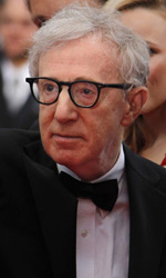 Cannes, il glamour � Gaga - Woody Allen con il cast di Midnight in Paris.