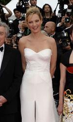 Cannes, il glamour � Gaga - Uma Thurman.