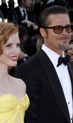 Cannes perde la testa per Malick - Il red carpet del film <em>The tree of life</em>.