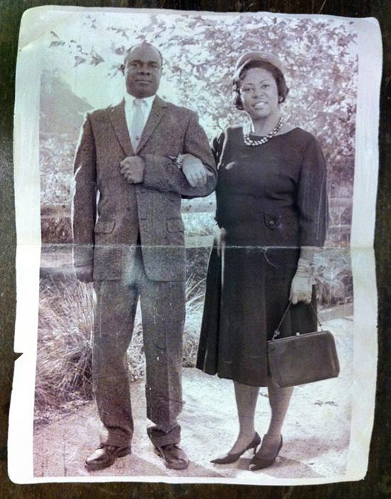 La foto dei genitori di Josh -