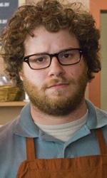 Zack & Miri, un porno per pagare i debiti - Zack nella caffetteria in cui lavora in una scena del film Zack & Miri - Amore a primo sesso.