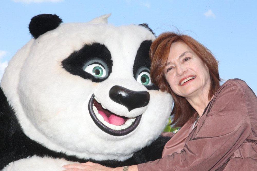 Il photocall di <em>Kung Fu Panda 2</em> a Taormina. -