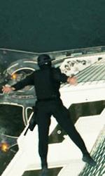 Il video dei Birdmen di Dark of the Moon - I Birdmen dopo essersi lanciati dall'elicoterro.