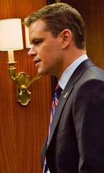 Travolti dal solito destino - Matt Damon ed Emily Blunt in una scena del film I guardiani del destino di George Nolfi.