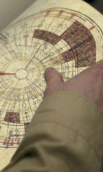 I guardiani del destino, un libro pieno di schemi elettrici - Un concept preparatorio del misterioso libro del film I guardiani del destino.