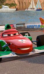 Cars 2 scatta in Italia - Una scena del film d'animazione Cars 2, sequel diretto da John Lasseter.