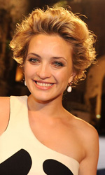 Carolina Crescentini, nastro d'argento e fulgido avvenire - Carolina Crescentini a Taormina per i Nastri d'argento 2011.