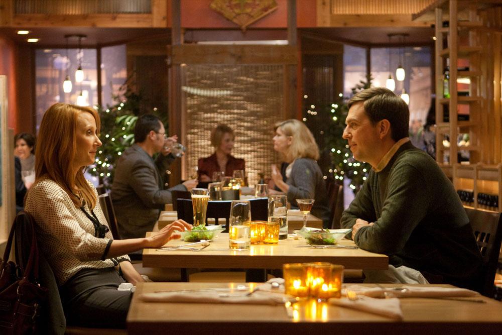 Una scena del film <em>Cedar Rapids</em>. -