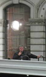 The Dark Knight Rises, incidente sul set - Farmiloe Building a St. Johns Street a Farringdon per il 