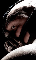 The Dark Knight Rises, incidente sul set - Tom Hardy nei panni del cattivo Bane.